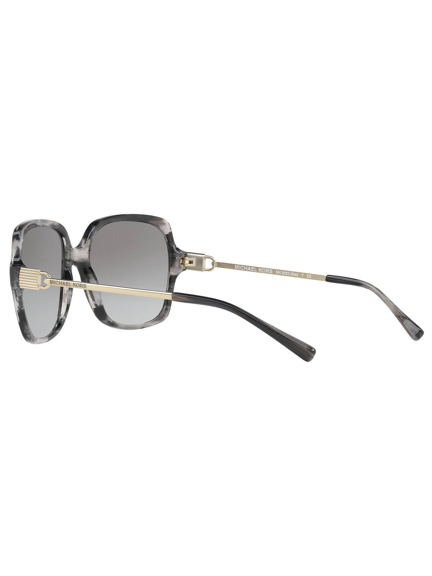 1dc42c021e Michael Kors MK2053 Bia Oversize Square Sunglasses at John Lewis ...