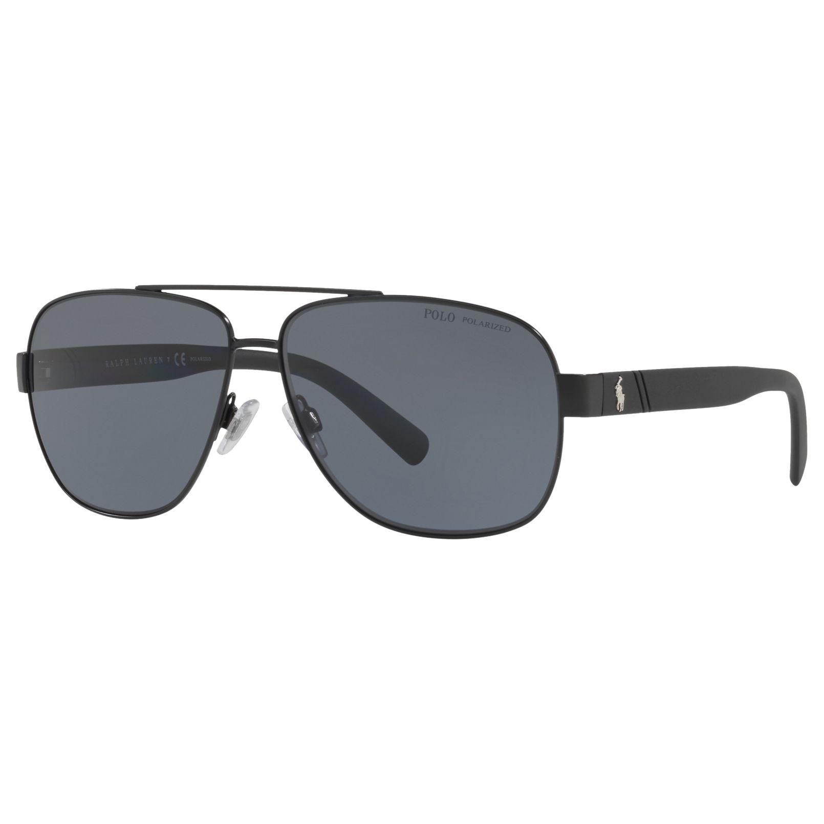 cae0ba73b0f Polo Ralph Lauren PH3110 Men s Polarised Aviator Sunglasses
