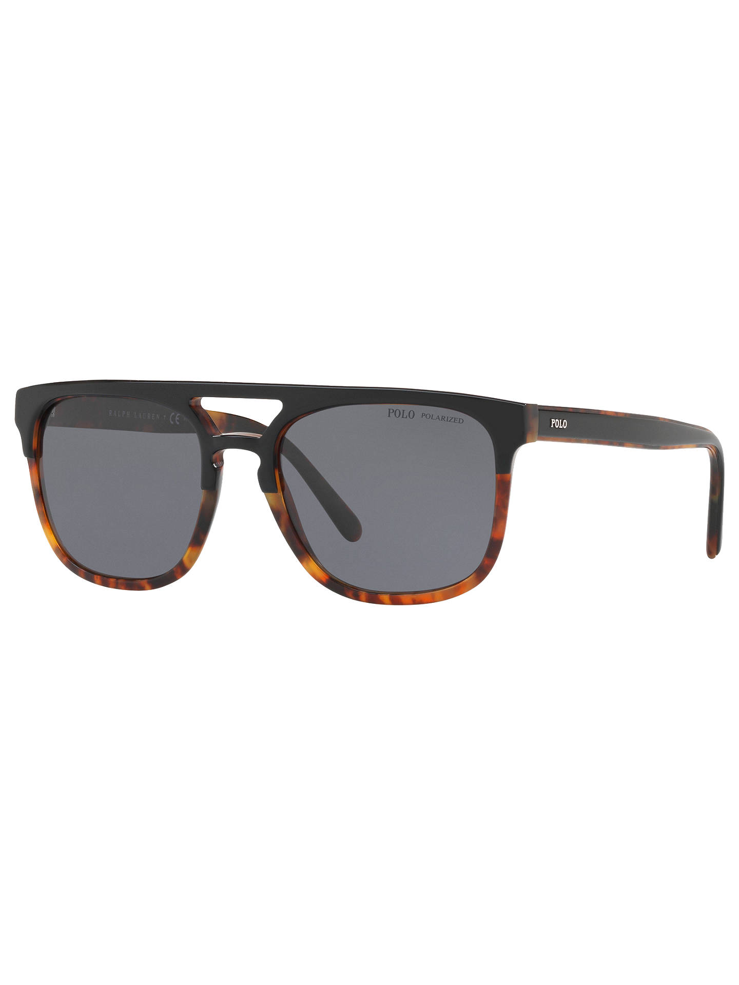 12ddc9d3f2 Polo Ralph Lauren PH4125 Men s Polarised D-Frame Sunglasses ...