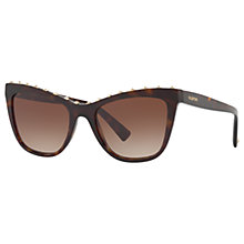 Buy Valentino VA4022 Studded Cat's Eye Sunglasses Online at johnlewis.com