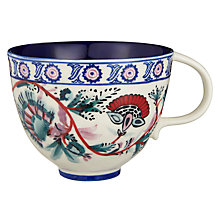 Buy Anthropologie Salma Mug, Blue/White, 473ml Online at johnlewis.com