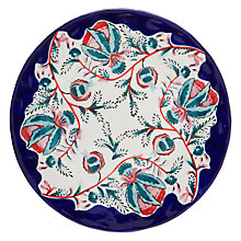 Buy Anthropologie Salma Dinner Plate, Blue/White, Dia.27.9cm Online at johnlewis.com