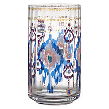 Buy Anthropologie Halden Ikat Juice Glass, Multi, 384ml Online at johnlewis.com