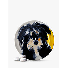 Buy Anthropologie Sally Muir Dog-a-Day Dessert Plate, Dia.21.5cm, Shaggy Dog Online at johnlewis.com