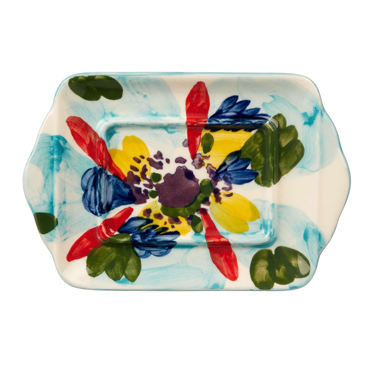 Attractive ... BuyAnthropologie Painted Amaryllis Butter Dish, Multi, 17cm Online At  Johnlewis.com ... Awesome Ideas