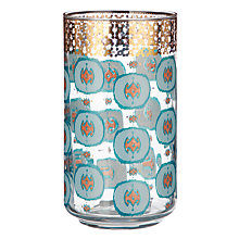 Buy Anthropologie Haldon Dot Print Juice Glass, 384ml, Clear/Multi Online at johnlewis.com