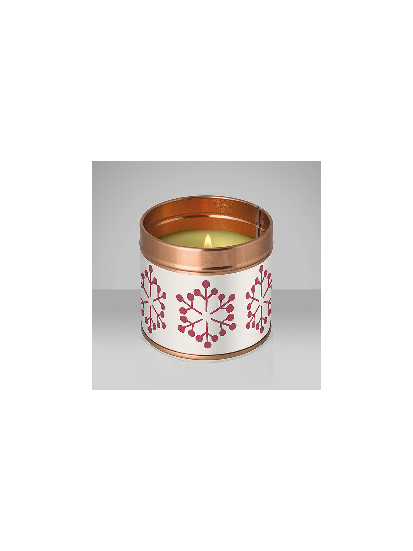 BuyJohn Lewis Winter Spice Tin Candle Online at johnlewis.com