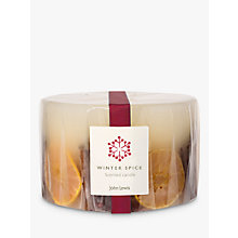 Buy John Lewis Winter Spice Inclusion 3 Wick Candle Online at johnlewis.com