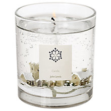 Buy John Lewis Snow Scene Medium Candle Online at johnlewis.com