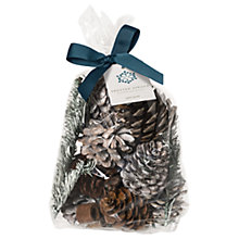 Buy John Lewis Frosted Spruce Pot Pourri Online at johnlewis.com