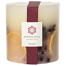 Buy John Lewis Winter Spice Inclusion Candle Online at johnlewis.com