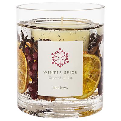 John Lewis Winter Spice Gel Candle Jar