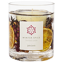 Buy John Lewis Winter Spice Gel Candle Jar Online at johnlewis.com
