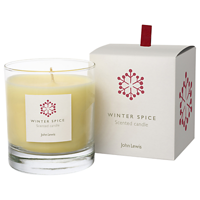John Lewis Winter Spice Candle in a Box