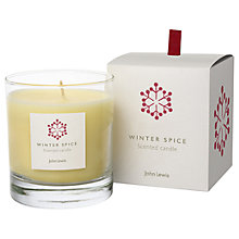 Buy John Lewis Winter Spice Candle in a Box Online at johnlewis.com