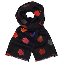 Buy PS Paul Smith Lino Comet Scarf, Black/Multi Online at johnlewis.com
