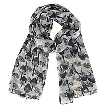 Buy Becksondergaard Svamp Scarf, Medieval Blue Online at johnlewis.com