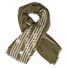 Buy Becksondergaard Wonderland Scarf, Beech Online at johnlewis.com