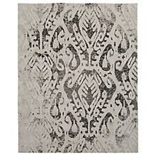Buy west elm Turkish Ikat Shine Rug, L244 x W152cm, Silver Online at johnlewis.com
