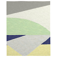 Buy west elm Colour Slice Wool Dhurrie Rug, L244 x W152cm, Multi Online at johnlewis.com