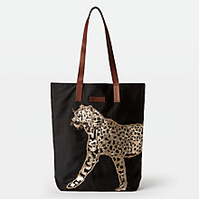 Buy Becksondergaard Leo Canvas Bag, Black Online at johnlewis.com
