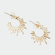 Buy Pieces Nohr Earrings, Gold Online at johnlewis.com