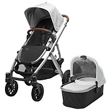 Buy Uppababy Vista 2017 Pushchair and Carrycot, Loic Online at johnlewis.com