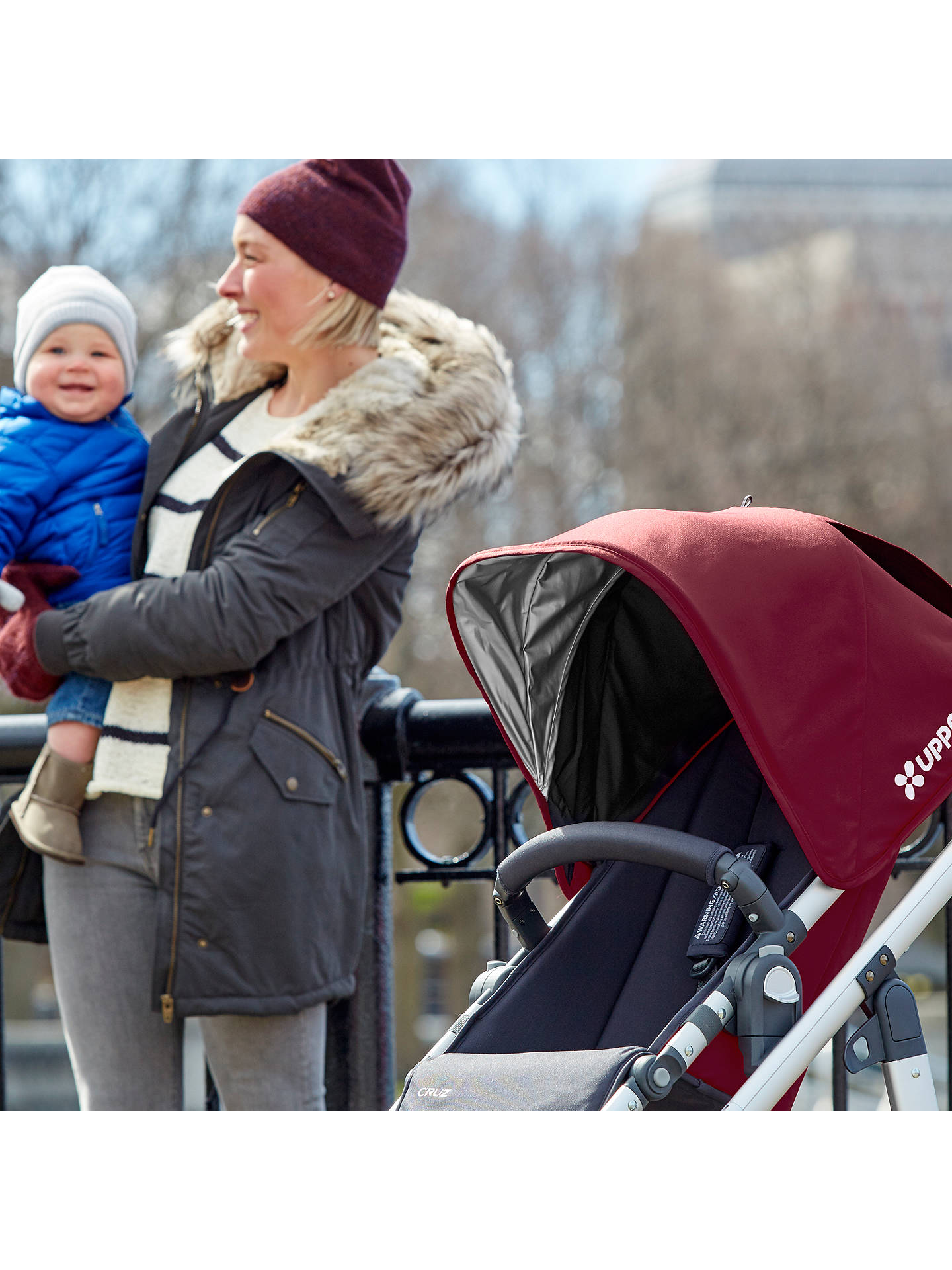 Buy Uppababy Cruz Pushchair, Dennison Online at johnlewis.com