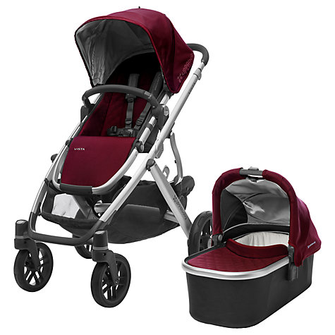 Buy Uppababy Vista 2017 Pushchair And Carrycot Dennison