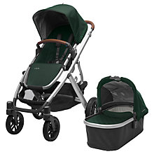 Buy Uppababy Vista 2017 Pushchair and Carrycot, Austin Online at johnlewis.com