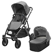 Buy Uppababy Vista 2017 Pushchair and Carrycot, Pascal Online at johnlewis.com