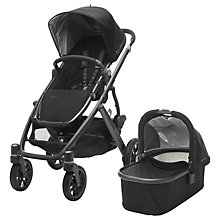 Buy Uppababy Vista 2017 Pushchair and Carrycot, Jake Online at johnlewis.com