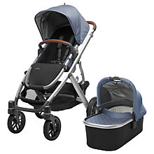 Buy Uppababy Vista 2017 Pushchair and Carrycot, Henry Online at johnlewis.com