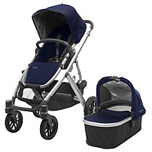 Buy Uppababy Vista 2017 Pushchair and Carrycot, Taylor Online at johnlewis.com