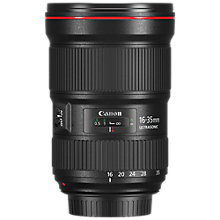 Buy Canon EF 16-35mm f/2.8L III USM Zoom Lens Online at johnlewis.com