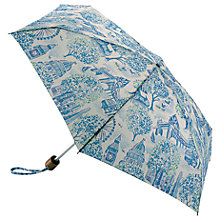 Buy Cath Kidston London Toile Umbrella, Cream/Blue Online at johnlewis.com