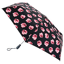 Buy Fulton Open & Close Superslim Rose Umbrella, Navy/Pink Online at johnlewis.com