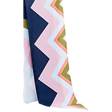 Buy Ted Baker Mississippi Skinny Scarf, Blue Online at johnlewis.com