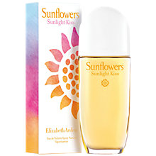 Buy Elizabeth Arden Sunflower Sunlight Kiss Eau de Toilelette, 100ml Online at johnlewis.com