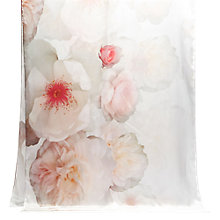 Buy Ted Baker Chelsa Long Silk Scarf, Light Grey Online at johnlewis.com