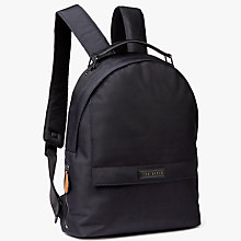 Buy Ted Baker Solaris Smart Nylon Backpack, Navy Online at johnlewis.com