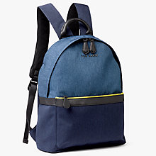 Buy Ted Baker Zirabi Contrast Trim Backpack Online at johnlewis.com