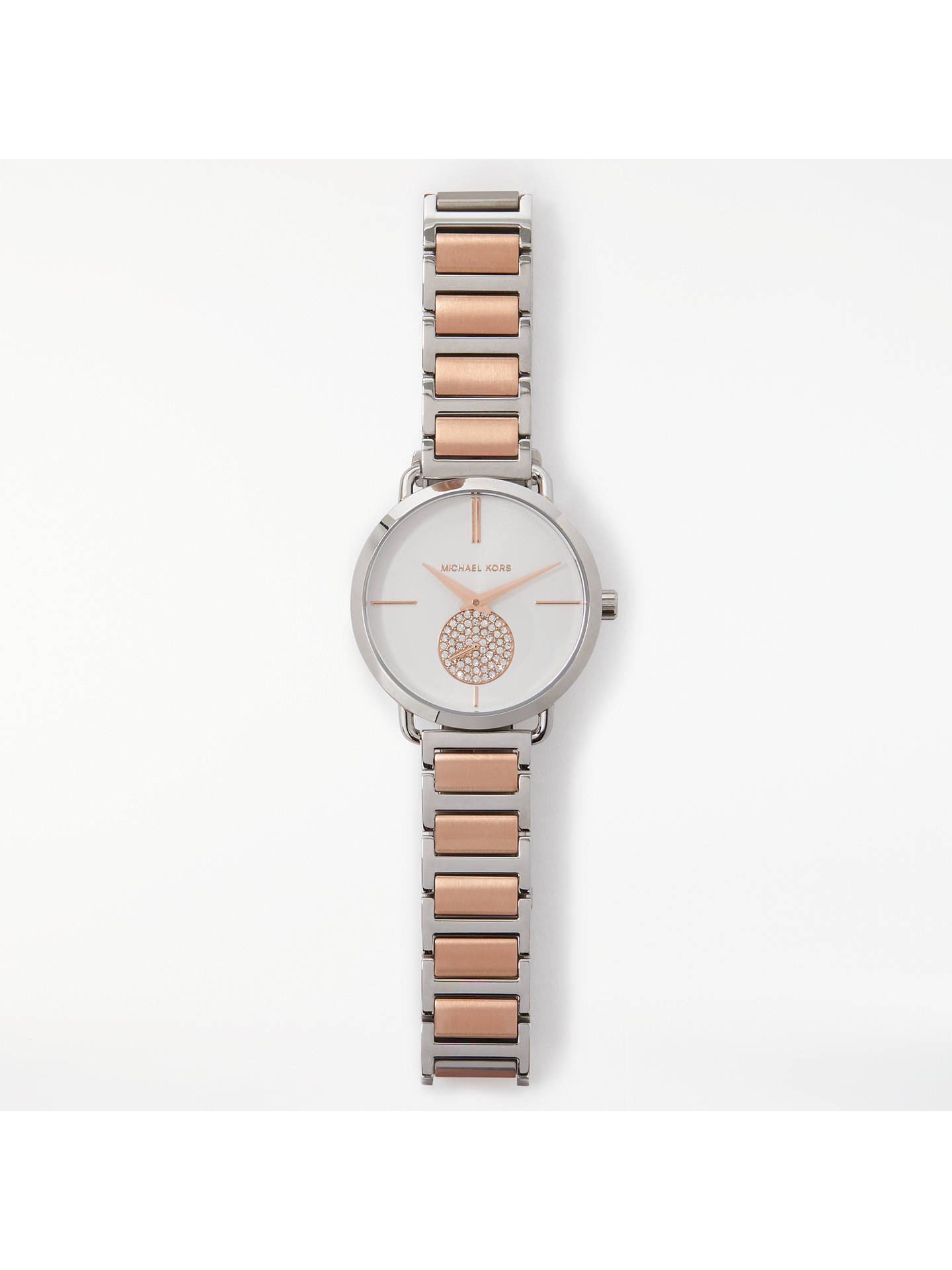 3d61abac2487 Buy Michael Kors Mk3709 Women s Portia Bracelet Strap Watch