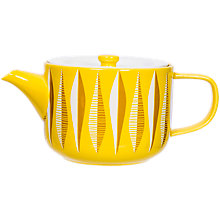 Buy Magpie Form Teapot, Yellow, 1L Online at johnlewis.com