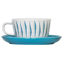 Buy Magpie Form Cup and Saucer, 222ml Online at johnlewis.com