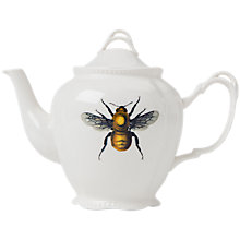 Buy Magpie Curios Bee Teapot, White/Multi, 921ml Online at johnlewis.com