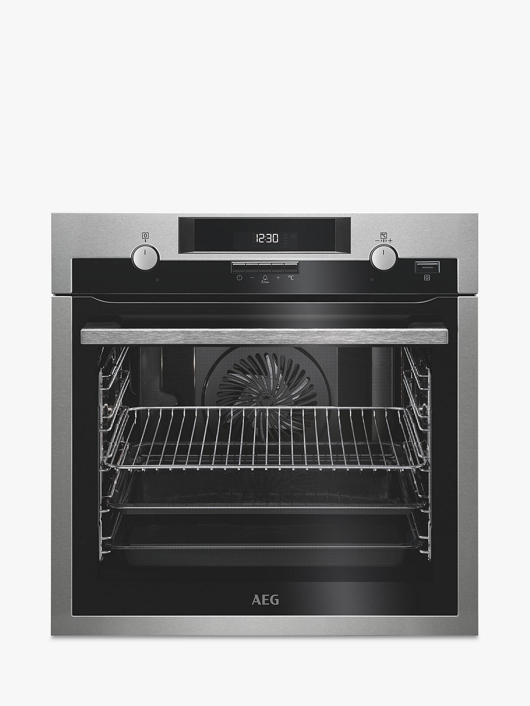 Buy AEG BPS551020M Built-In Multifunction Oven, Stainless Steel Online at johnlewis.com