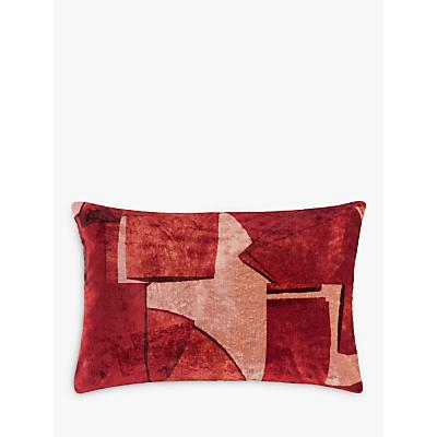 Design Project by John Lewis No.124 Brick Velvet Cushion