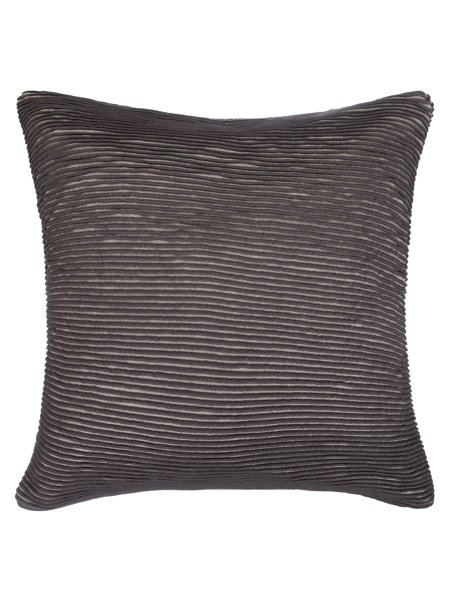 Buy John Lewis & Partners Rib Knit Cushion, Storm Online at johnlewis.com