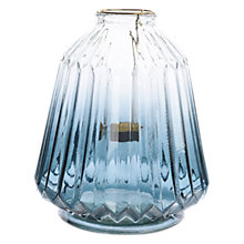 Buy John Lewis Boutique Hotel Ombre Lantern, Blue Online at johnlewis.com